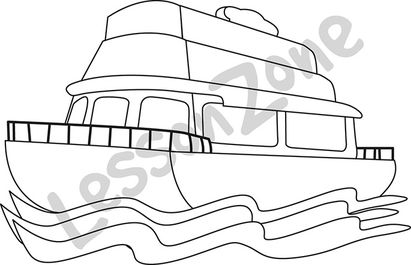 Ferry clipart black and white image Ferry clipart black and white 9 » Clipart Station image