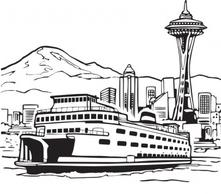 Ferry clipart black and white jpg Free Ferry Cliparts, Download Free Clip Art, Free Clip Art on ... jpg