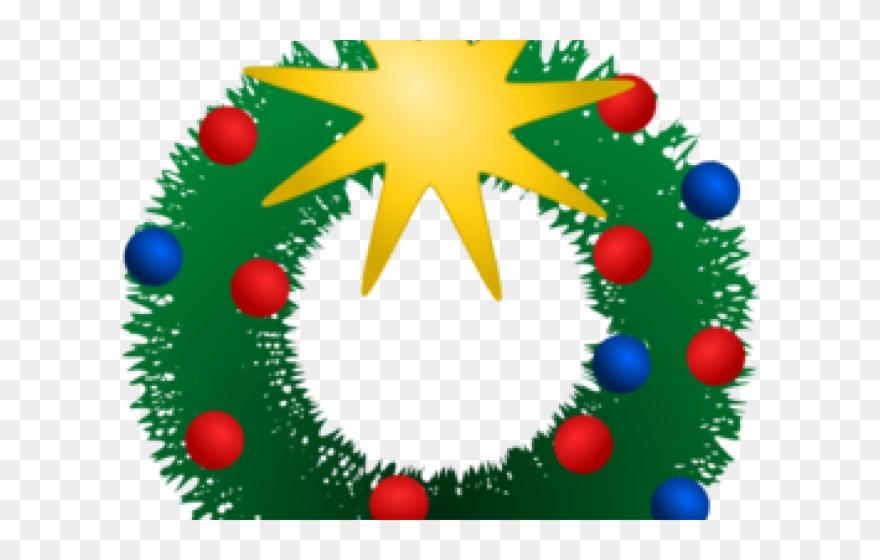Festive clipart image transparent Christmas Clipart Wreath - Festive Clip Art - Png Download (#1544399 ... image transparent