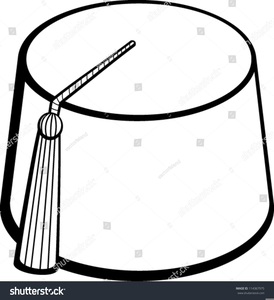 Fez clipart vector black and white Fez Clipart | Free Images at Clker.com - vector clip art online ... vector black and white