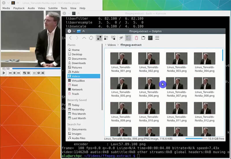 Ffmpeg video from cliparts in folder vector free Convert video to images with FFmpeg in Linux | Average Linux User vector free