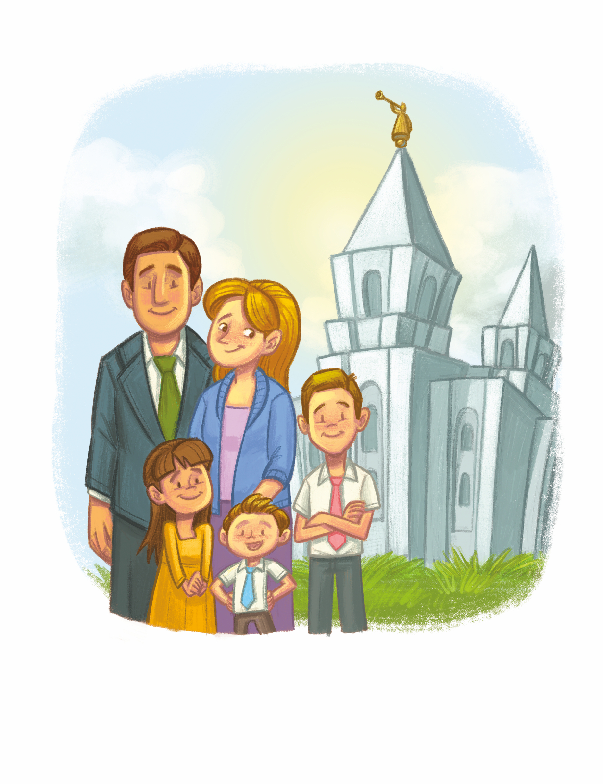 Fhe clipart picture library Family Clipart Lds picture library