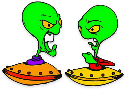 Fictional clipart svg stock Free Alien Animations - Science Fiction Clipart svg stock