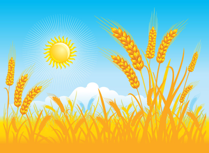 Fields clipart freeuse library Clipart Fields Of Grain | Free Images at Clker.com - vector clip art ... freeuse library