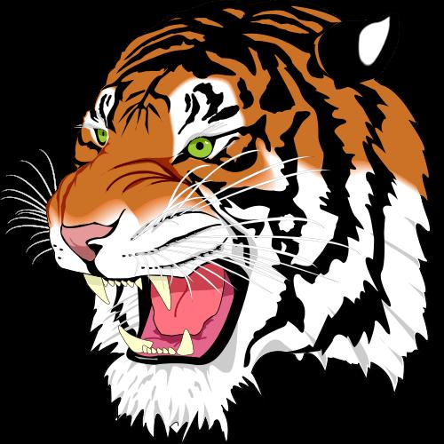 Fierce tiger clipart clip library stock Fierce Basketball Cliparts - Cliparts Zone clip library stock