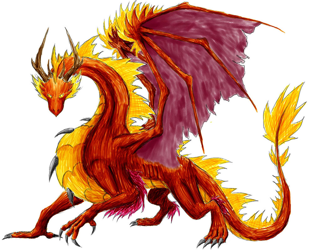 Fiery dragon clipart clipart free Fire Dragon Images - Clip Art Library clipart free