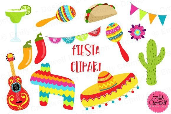 Fiesta clipart pictures jpg transparent Fiesta Clipart | Banner Template | Graphic illustration, Banner ... jpg transparent