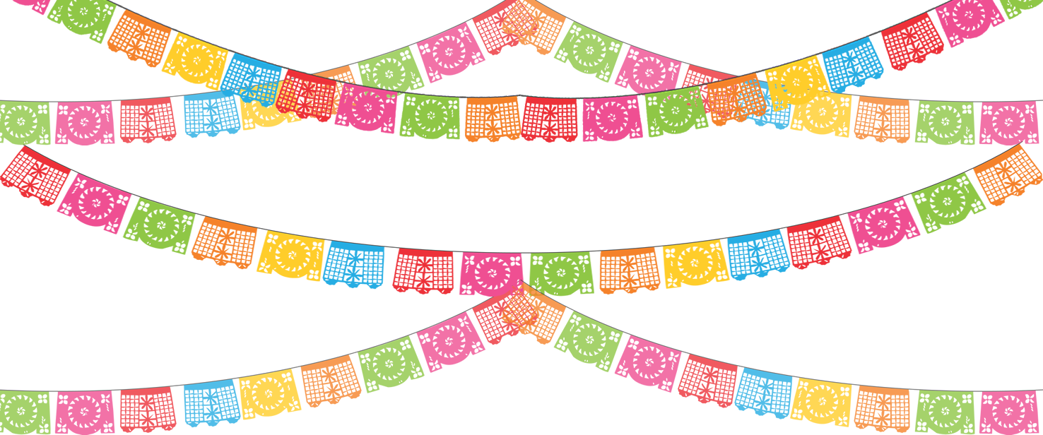 Mexican flower clipart png image royalty free download papel-picado.png (1476×616) | birthdays | Pinterest | Papel picado ... image royalty free download