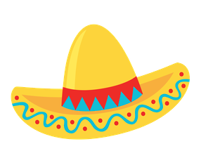 Fiesta hat clipart vector black and white download Cinco de Maio - Minus | printable | Mexican party, Mexican fiesta ... vector black and white download