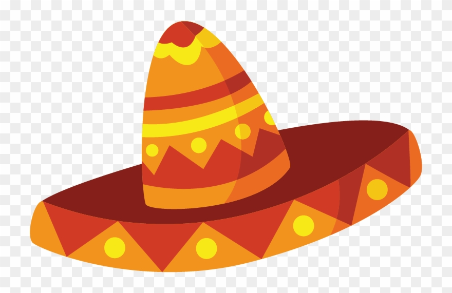 Fiesta hat clipart svg library download Download Taco Border Transparent Background Clipart - Ready To Ship ... svg library download