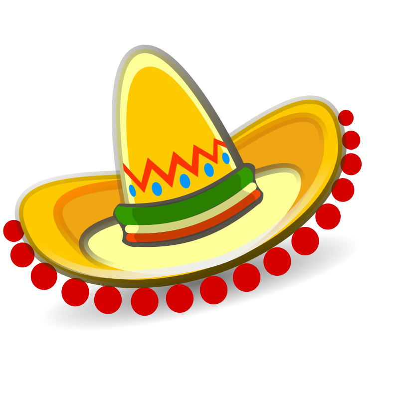 Sombrero hat clipart graphic stock mexican hat clipart | P North America | Mexican hat, Mexican ... graphic stock