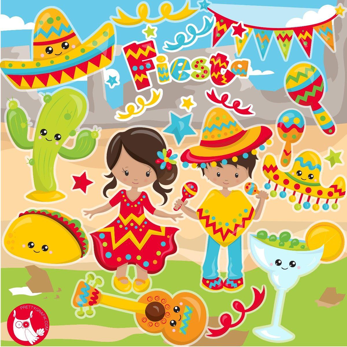 Fiesta mexicana clipart clip art free Kit Imprimible Fiesta Mexicana Clipart Png Jpg clip art free