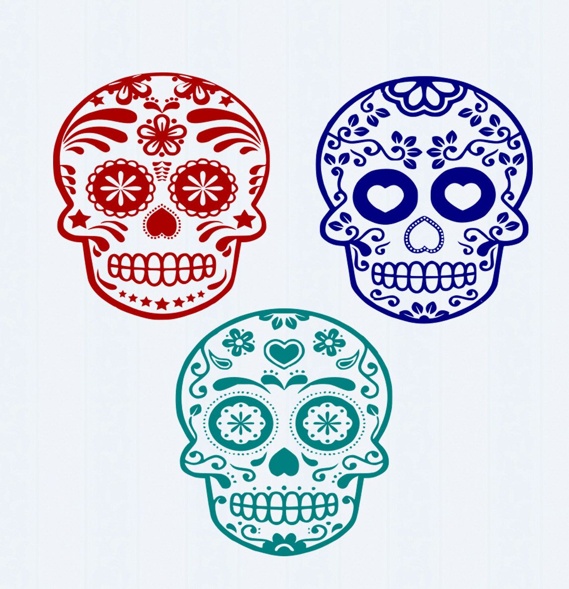 Fiesta skull clipart