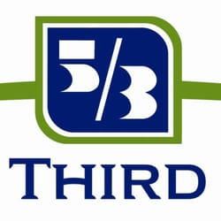 Fifth third bank logo clipart png black and white Fifth Third Bank - Banks & Credit Unions - 47 E Thompson Ln, South ... png black and white