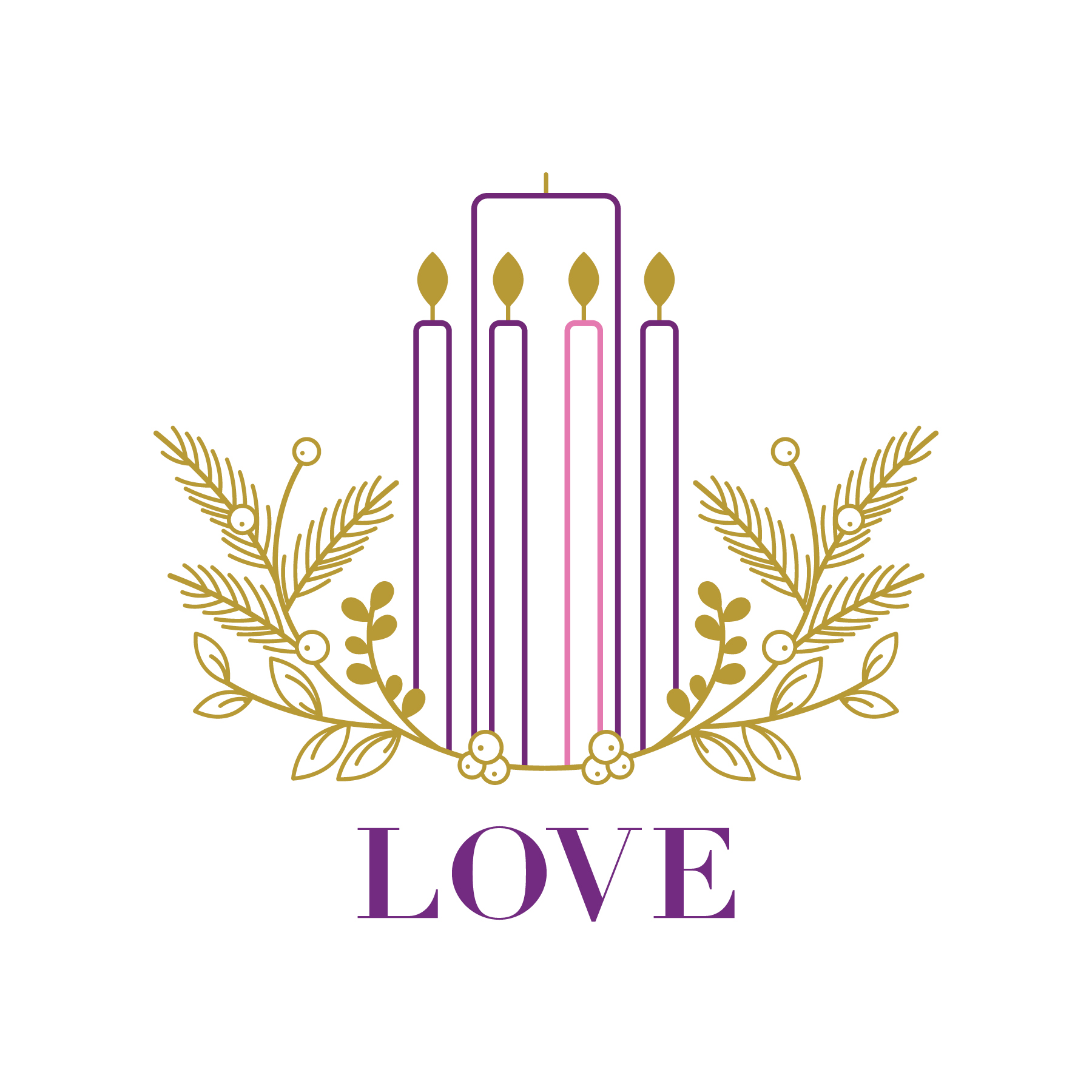 Fifth week of advent led by love clipart banner library stock Worship Resources   I am AME banner library stock