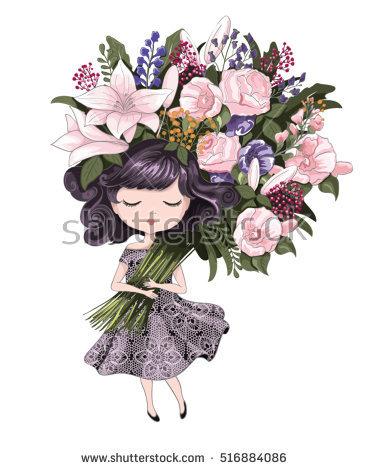 Fight like girl clipart clipart stock Girl Banco de imagens, imagens e vetores livres de direitos ... clipart stock