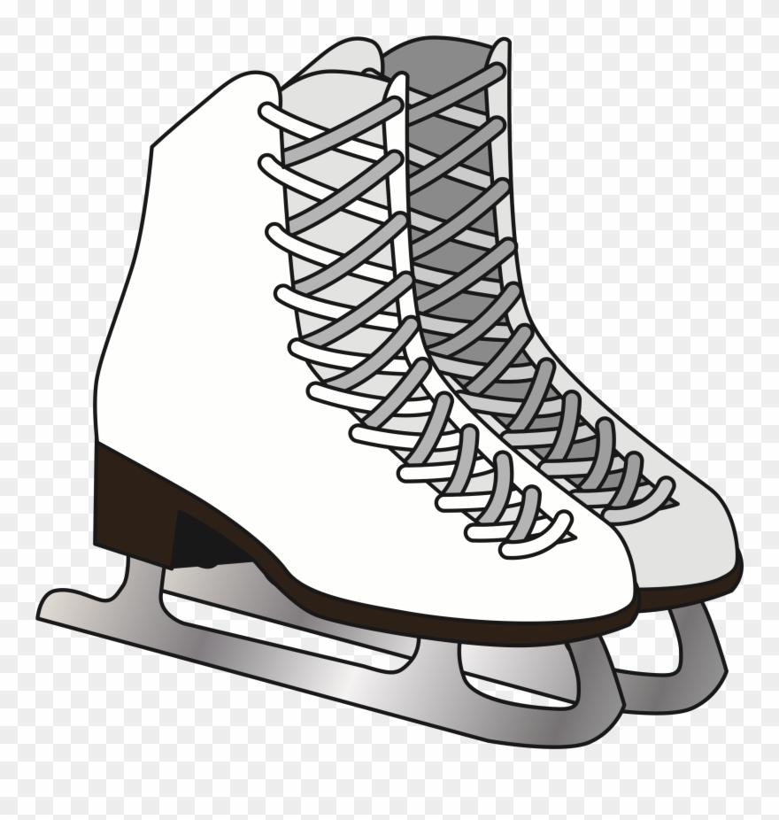 Figure skate clipart clip free stock Big Image - Figure Skate Clipart (#3636591) - PinClipart clip free stock