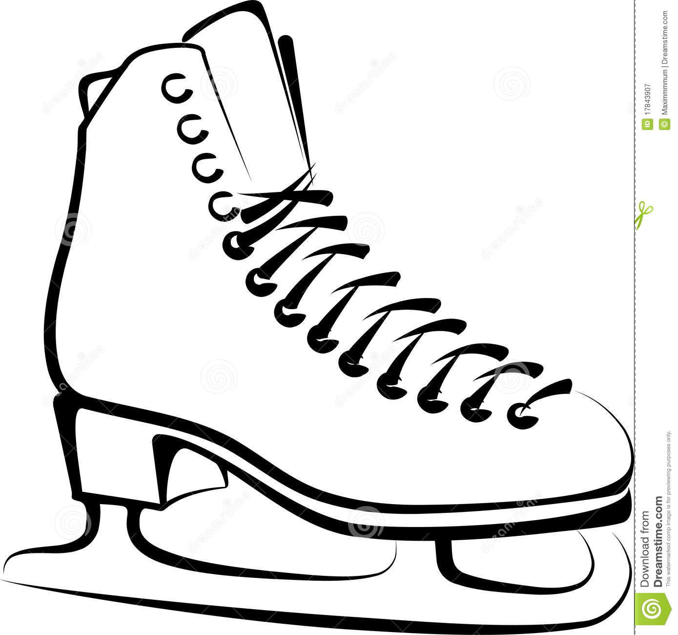 Figure skate clipart graphic royalty free library Ice Skate Pictures | Free download best Ice Skate Pictures on ... graphic royalty free library