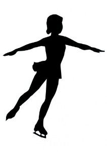 Figure skater clipart clipart black and white stock ice skater silhouette - Google Search | Clip Art | Silhouette, Ice ... clipart black and white stock
