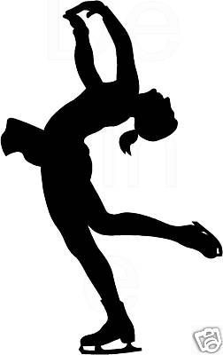 Figure skater clipart graphic free stock Image result for figure skating graphics | Tattoos | Figure ice ... graphic free stock