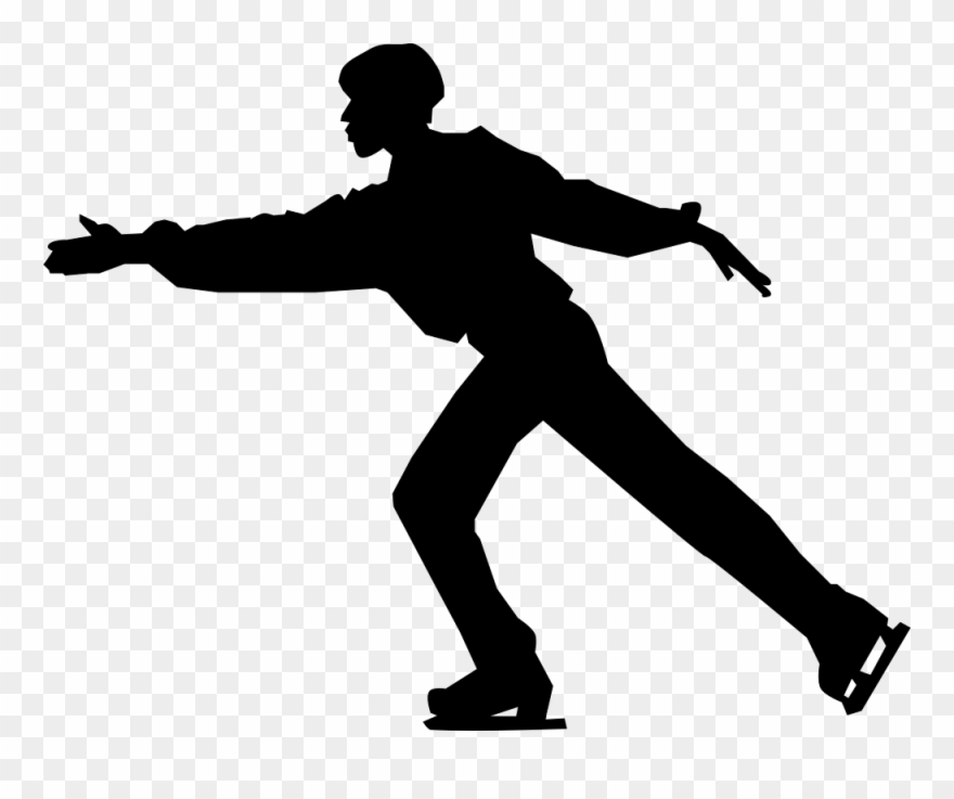 Skater clipart clip art free download Ice Skater - Figure Skating Png Clipart (#231589) - PinClipart clip art free download