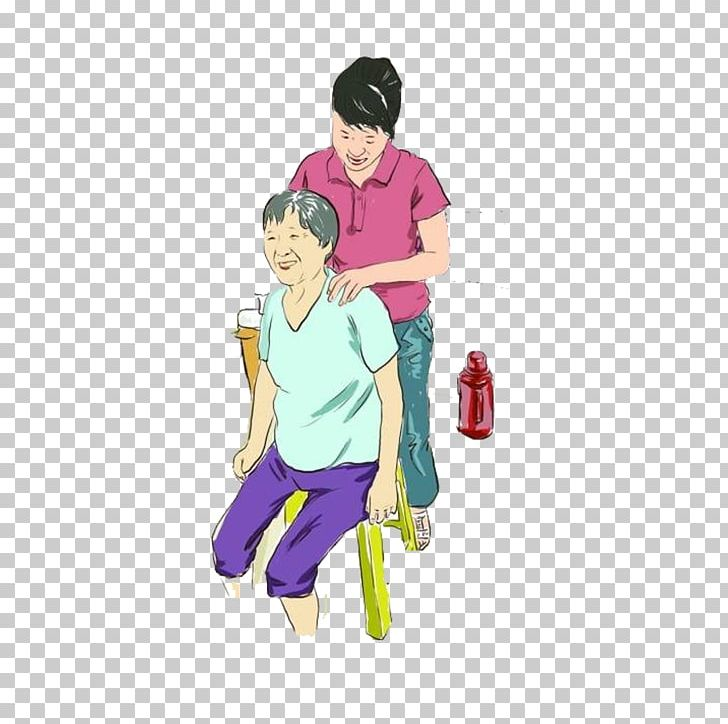 Filial clipart png freeuse library Parent Filial Piety Cartoon Illustration PNG, Clipart, Art, Boy ... png freeuse library