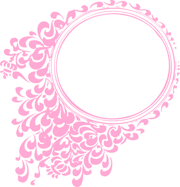 Filigree pumpkin clipart vector black and white download pink-oval-frame-hi.png (576×597) | ChristineOils | Pinterest vector black and white download