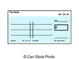 Filled cheque clipart clip art library Chequebook Clipart and Stock Illustrations. 230 Chequebook vector ... clip art library