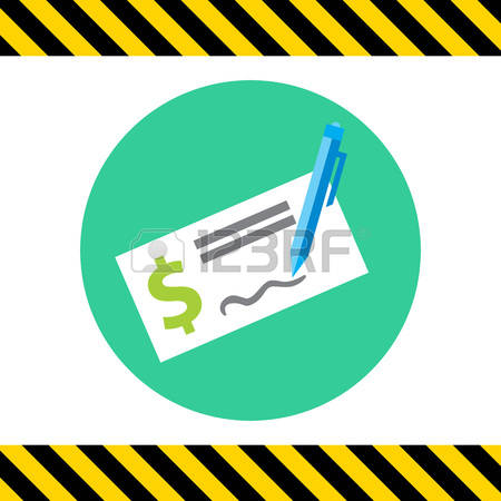 Filled cheque clipart clipart transparent stock 270 Cheque Book Stock Illustrations, Cliparts And Royalty Free ... clipart transparent stock