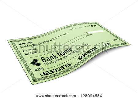 Filled cheque clipart png library stock Bank Check Stock Images, Royalty-Free Images & Vectors   Shutterstock png library stock