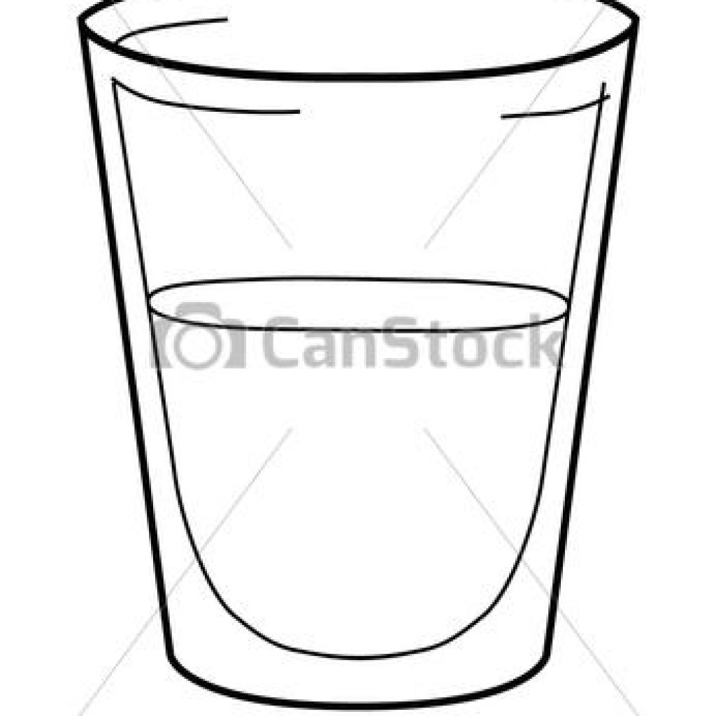 Filled water glass clipart b&w clipart library library Water Outline Transparent & PNG Clipart Pictures Free Download ... clipart library library