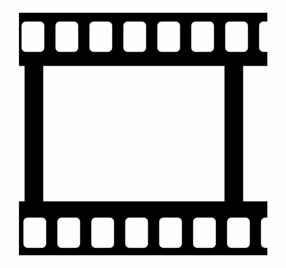 Film reel clipart black and white vector royalty free library Clipart - Movie Tape - Film Reel Clipart Black And White Free PNG ... vector royalty free library