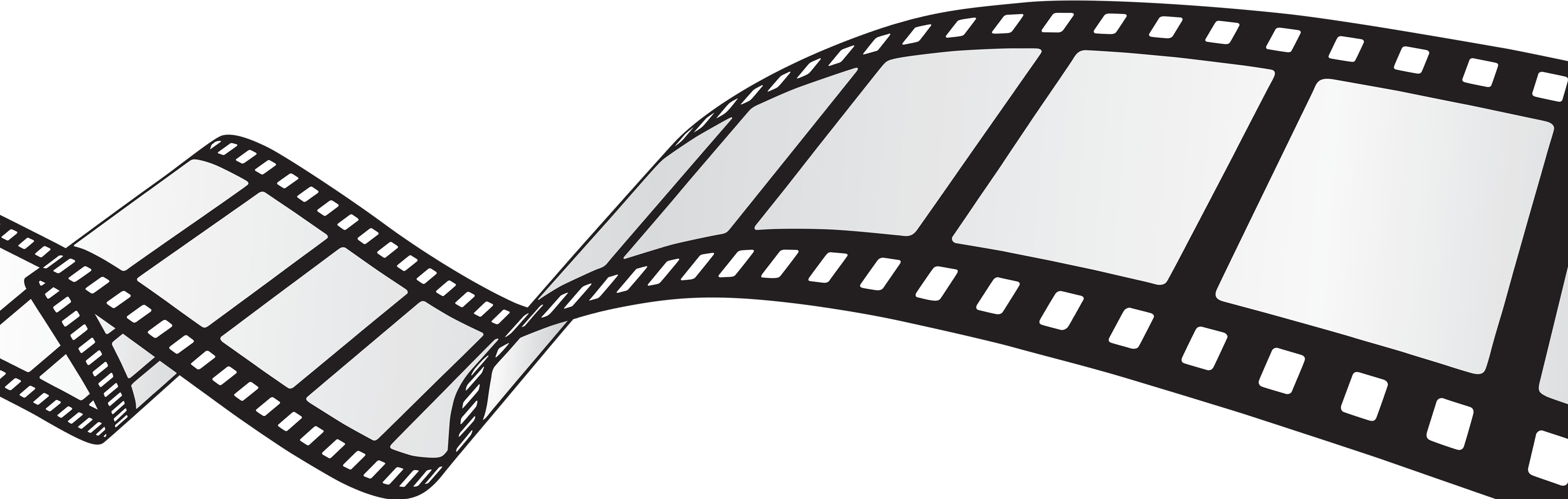 Motion picture film clipart