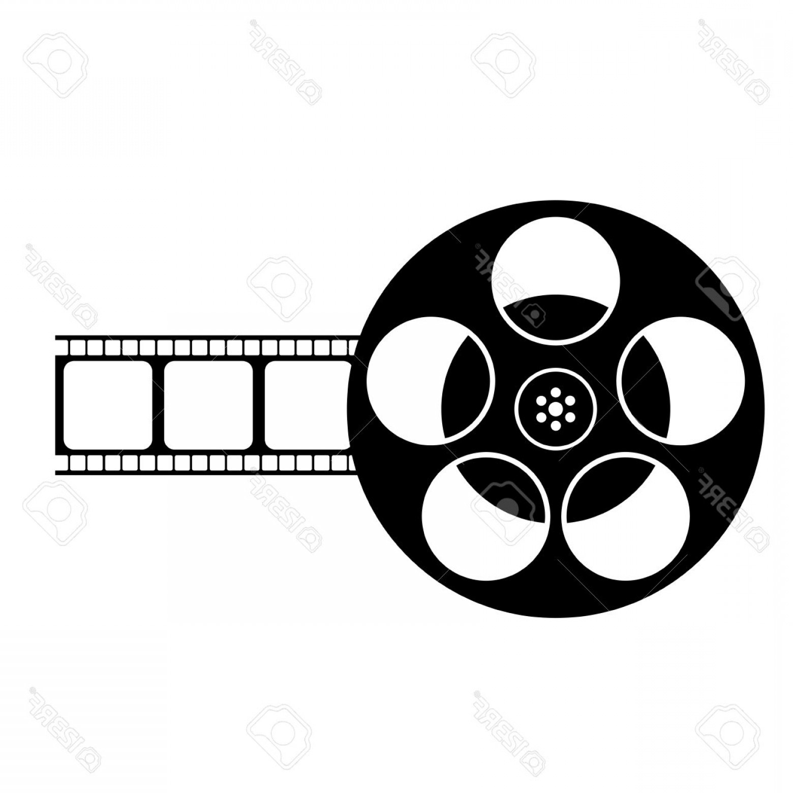 Film reel clipart black and white svg transparent library Film Reel Clipart Black And White | SOIDERGI svg transparent library