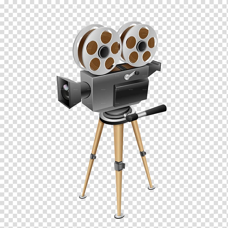 Film scope clipart jpg free download Graphic film Cinema Movie camera, Projector transparent background ... jpg free download