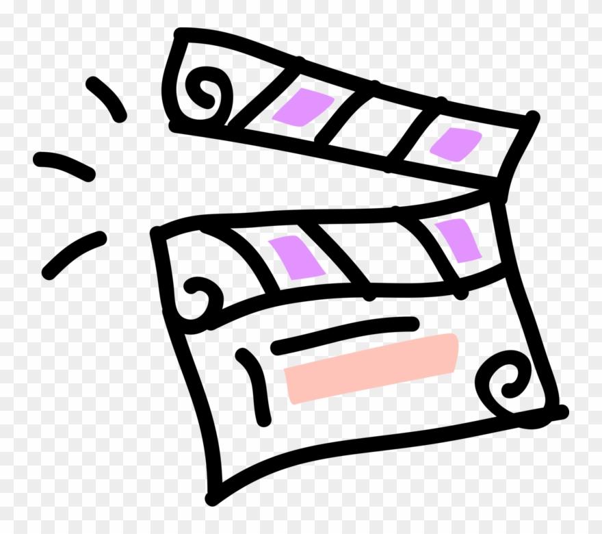 Filmmaking clipart jpg transparent stock Vector Illustration Of Filmmaking And Video Production Clipart ... jpg transparent stock