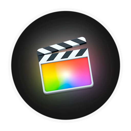 Final cut pro x logo clipart png black and white Final Cut Pro X icon 1024x1024px (ico, png, icns) - free download ... png black and white