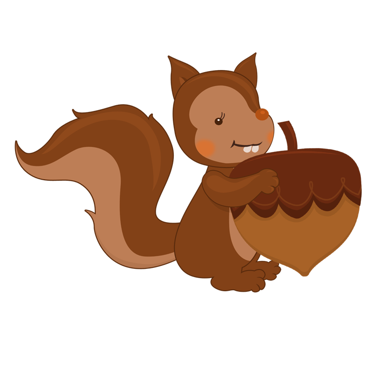 Thanksgiving squirrel clipart vector library download Thanksgiving | Family Reunion Helper vector library download