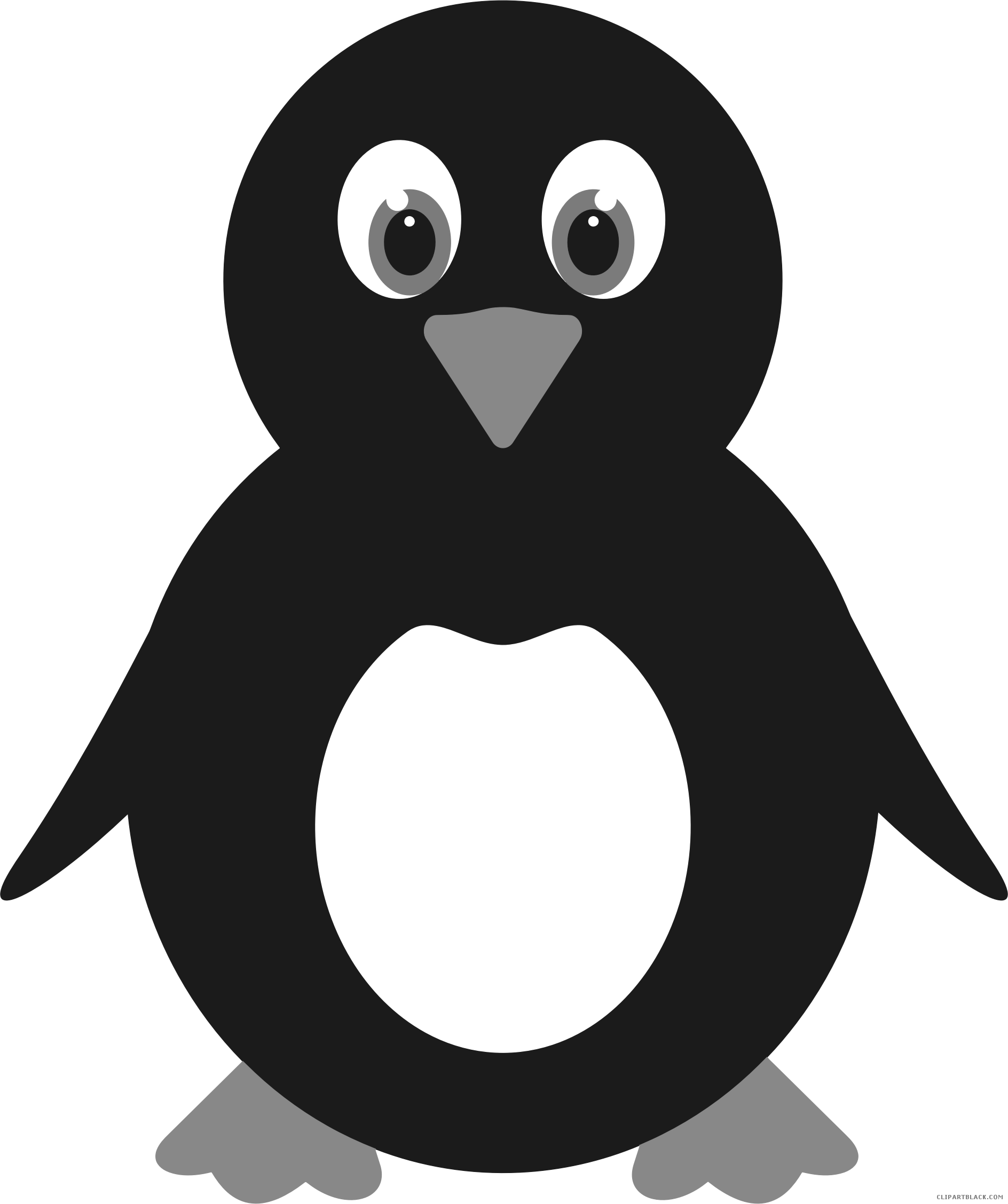 Find free clipart or photos family hungry waiting long time for their turkey dinner clip library library Cute Penguin Animal free black white clipart images clipartblack ... clip library library