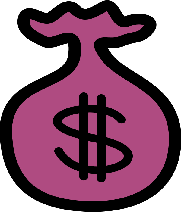 Find money clipart clipart black and white download Pink Money Clipart clipart black and white download