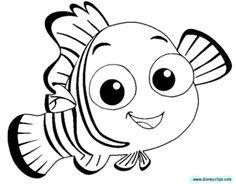 Finding nemo clipart black and white transparent library Finding Nemo Clipart Black And White | Free download best Finding ... transparent library