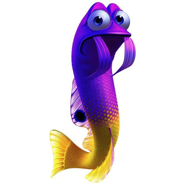 Finding nemo yellow and purple fish clipart clip stock Finding Nemo Images ❤ liked on Polyvore featuring tops, t-shirts ... clip stock