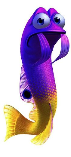 Finding nemo yellow and purple fish clipart banner library library 41 Best Finding Nemo images in 2014 | Finding nemo, Caricatures ... banner library library