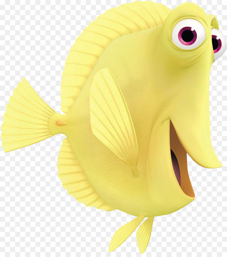 Finding nemo yellow and purple fish clipart graphic black and white stock Free Finding Dory Silhouette, Download Free Clip Art, Free Clip Art ... graphic black and white stock