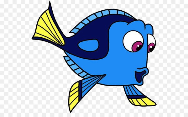 Finding nemo yellow and purple fish clipart jpg library library Marlin Nemo Mr. Ray Clip art - dory - Nohat jpg library library