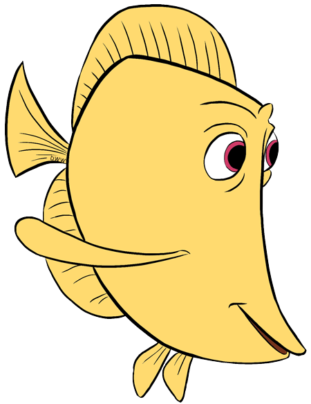 Finding nemo yellow and purple fish clipart vector Nemo Cliparts | Free download best Nemo Cliparts on ClipArtMag.com vector