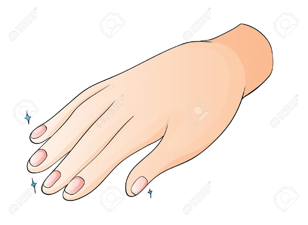 Finger nails clipart clip art royalty free download Free Clipart Fingernails | Free Images at Clker.com - vector clip ... clip art royalty free download