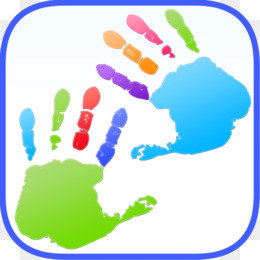 Finger painting clipart png free download Kids Finger Painting Coloring PNG and Kids Finger Painting Coloring ... png free download