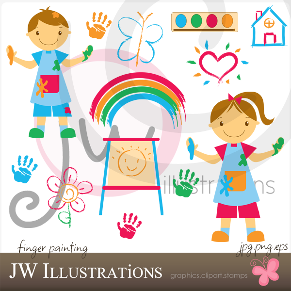 Finger painting clipart graphic stock Finger Painting by jdDoodles.deviantart.com on @deviantART | Blogger ... graphic stock