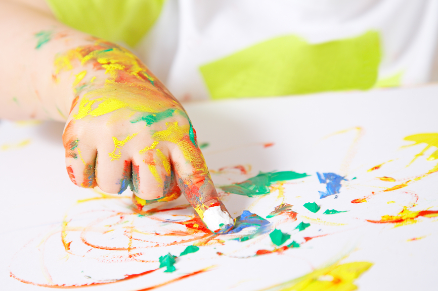 Finger painting clipart picture download Nourish the whole child with finger painting! | Nourishing Our Children picture download